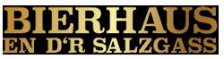 Bierhaus en d'r Salzgass Logo